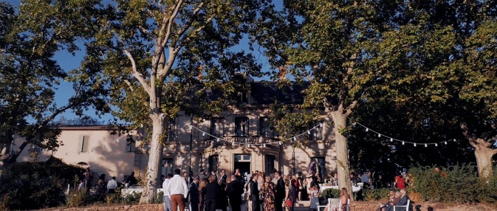 Film de mariage au château de Malmont